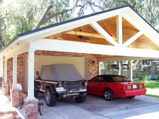 After additional dettached garage.