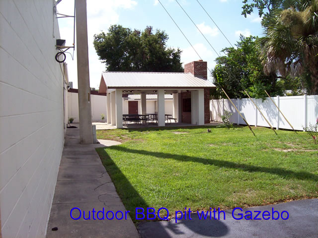 BBQ Pit With Gazebo