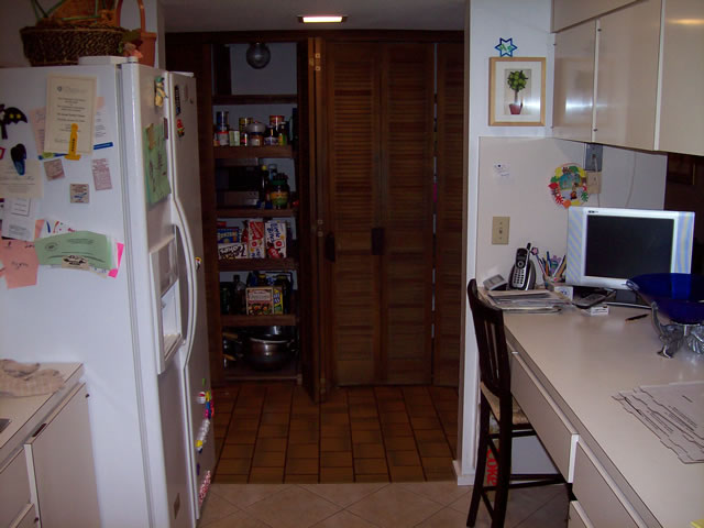 Another before kitchen photo.