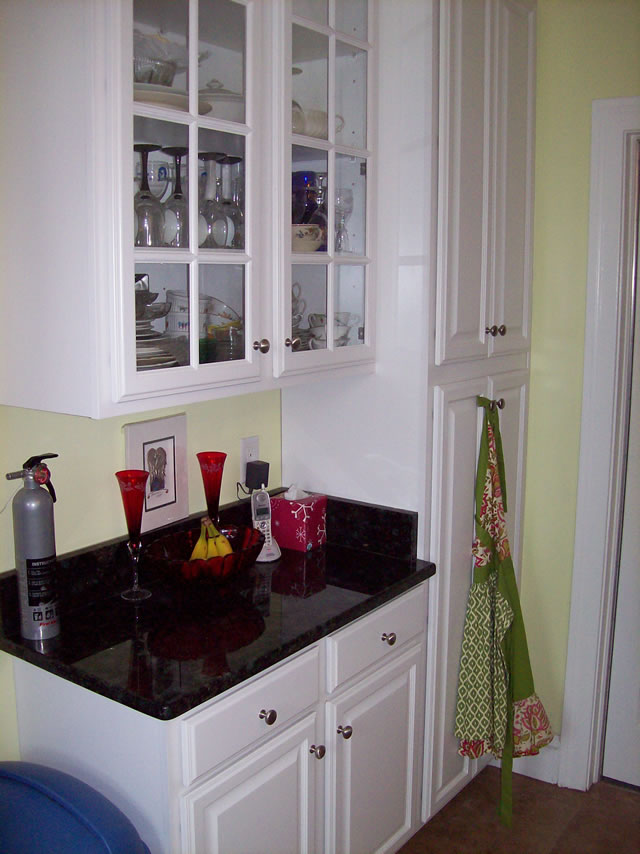 After kitchen renovation.